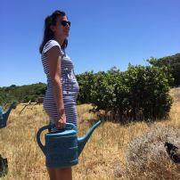 Planting a tree at Grootbos